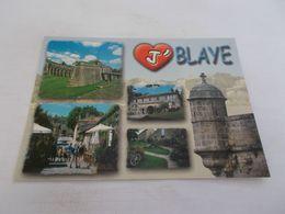 J AIME BLAYE ( 33 Gironde ) GROS COEUR ET MULTIVUES  Photos I.ANGER - Blaye