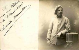 MILITARIA - Carte Postale Photo - Photo D'un Soldat En 1916 - L 66898 - Personnages