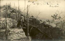 MILITARIA - Carte Postale Photo - Civils Dans Les Tranchées En 1914 - L 66900 - War 1914-18