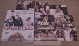 AFFICHE CINEMA ORIGINALE FILM LES GRANDS DUCS + 7 PHOTOS EXPLOITATION ROCHEFORT NOIRET MARIELLE 1996 - Affiches & Posters