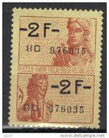 Belgique Timbre Fiscal - Fiscal Zegel 2F - Fiscali