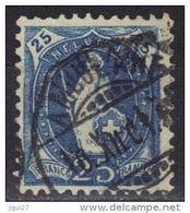 Suisse N° 73 Oblitération Ambulant 10 XII 1901 - Storia Postale