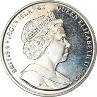 Monnaie, BRITISH VIRGIN ISLANDS, Dollar, 2002, Franklin Mint, 11 Septembre 2001 - Iles Vièrges Britanniques