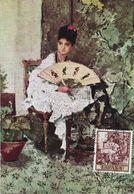 3539   Maxima Madrid  1968 ,Mariano Fortuny,  Retrato. - Tarjetas Máxima