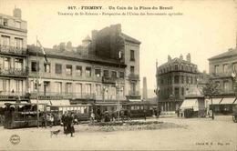 FRANCE - Carte Postale - Firminy - Tramway De St Etienne Et Perspective De L'Usine D'Instruments Agricoles - L 66912 - Firminy