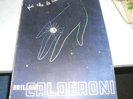 CATALOGO BRILLANTI CALDERONI 1938 - Catalogues