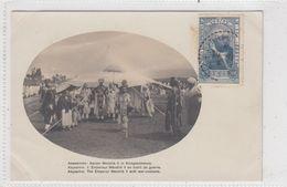 Ethiopia. The Emperor Menelik II With War-costume. - Etiopía