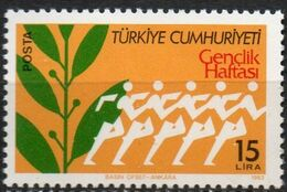 Turkey 1983 Week Of The Youth 1 Value Mi 2633 MNH 2008.0860 - Infancia & Juventud