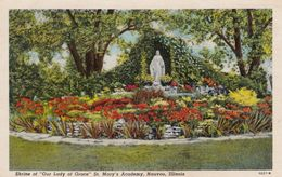 """NAUVOO, Illinois, 1930-40s;  Shrine Of """"Our Lady Of Grace"""" ,  St. Mary's Academy - Autres"""