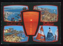 CPM Italie Saluti Da BELLARIA Multi Vues - Rimini