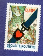 FRANCE 2004, SECURITE ROUTIERE, NEUF - France