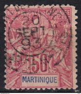 Martinique N° 41 Dents Rognées Mais Belle Oblitération Fort-de-France 20 SEPT 1893 - Martinique (1886-1947)