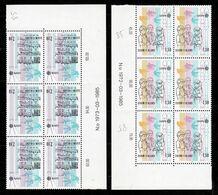 1985 Finlandia Finland EUROPA CEPT EUROPE 6 Serie Di 2v. Blocco MNH** MUSICA MUSIC - Europa-CEPT