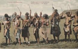 Mozambique - Lourenco Marques - Native Chiefs In War Dance - Afrique