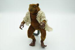 Vintage TEENAGE MUTANT NINJA TURTLE : Fuzzy Splinter Rat - Playmates - TNMT - 1992's - Beeldjes