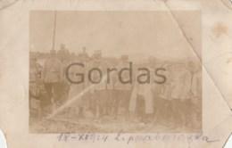 Romania - Lipova - Arad - 1924 - Military  - Damaged - Personnages