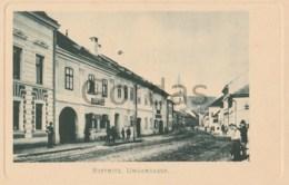 Romania - Bistrita Nasaud - Ungargasse - Magazinul Albert Binder - Shop - Judaica - Roumanie