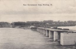 STERLING, Illinois, 1908; New Government Dam - Autres