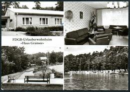 A5518 - Neuglobsow FDGB Heim Haus Gransee - Bild Udn Heimat Reichenbach - Neuglobsow