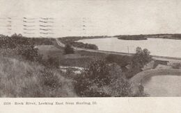 STERLING, Illinois, 1909; Rock River, Looking East - Autres