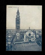 Cartolina Doppia Cremona Panorama Duomo E Torrazzo - Cremona