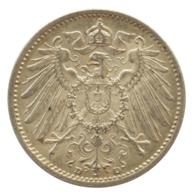 GERMANY - EMPIRE - 1 Mark - 1914 - D - München - Silver - #DE067 - 1 Mark