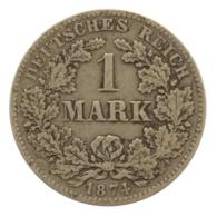 GERMANY - EMPIRE - 1 Mark - 1874 - F - Stuttgart - Silver - #DE072 - 1 Mark