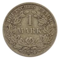 GERMANY - EMPIRE - 1 Mark - 1874 - H - Darmstadt - Silver - #DE074 - 1 Mark