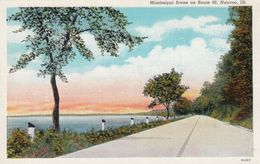 NAUVOO, Illinois, 1910s; Mississippi River Scene On Route 96 - Autres