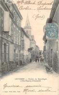 32 - Lectoure - Clocher Du Saint-Esprit Et Rue Dupouy Et Constantin - Lectoure