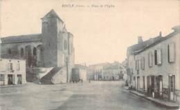 32 - Riscle - Place De L'Eglise (restaurant) - Riscle