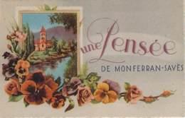 32 - Monferran-Saves - Une Pensée De Monferran-Savès - France
