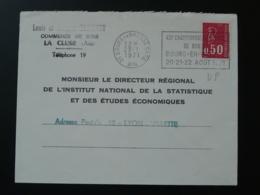 01 Ain Bourg En Bresse Championnats De France De Boules 1971 - Flamme Sur Lettre Postmark On Cover - Bocce