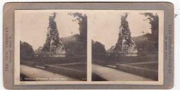 Photo Stéréoscopique : TURIN : Italie : Monument Du Mont-Cenis : ( The New Americain - Universal View Cie ) - Photos Stéréoscopiques
