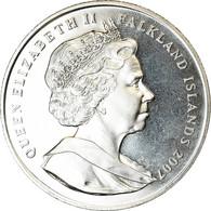 Monnaie, Falkland Islands, 2 Pounds, 2007, 20ème Anniversaire De La Pêche - Falkland
