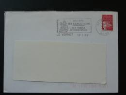 03 Allier Le Vernet Saint Georges Et Le Dragon - Flamme Sur Lettre Postmark On Cover - Pfadfinder-Bewegung