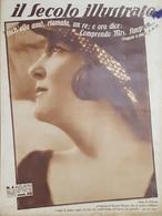 Rivista Attualità - Il Secolo Illustrato N. 4 - Paola Di Ostheim - 1937 - Libros, Revistas, Cómics