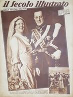 Rivista Attualità - Il Secolo Illustrato N. 3 - Nella Reggia Dell'Aja - 1937 - Boeken, Tijdschriften, Stripverhalen