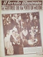 Rivista Attualità Il Secolo Illustrato N. 2 Mario Badoglio E Giuliana Rota 1937 - Boeken, Tijdschriften, Stripverhalen
