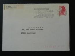 06 Alpes Maritimes Nice Wilson Congrès Paléontologie 1982 - Flamme Sur Lettre Postmark On Cover - Préhistoire