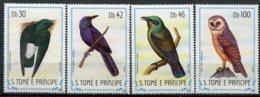 S.Tomé E Principe    Oiseaux       792/795 ** - Aigles & Rapaces Diurnes