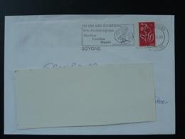 07 Ardèche Soyons 150.000 Ans D'histoire - Flamme Sur Lettre Postmark On Cover - Préhistoire
