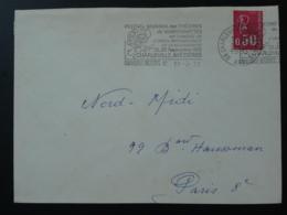 08 Ardennes Charleville Mezieres Festival Marionettes Puppets 1972 - Flamme Sur Lettre Postmark On Cover - Marionetas