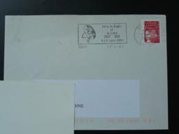 09 Ariège Seix Feria Du Rugby 2003 (ex 1)- Flamme Sur Lettre Postmark On Cover - Rugby