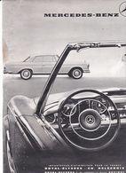 Feuillet De Magazine Mercedes Coupé & Cabriolet - Cars