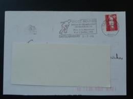 11 Aude Castelnaudary Championnat De France Petanque 1996 (ex 1) - Flamme Sur Lettre Postmark On Cover - Bocce
