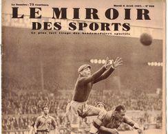 LE MIROIR DES SPORTS 938 1937 SOCHAUX AMSTERDAM PAQUEBOT PARIS CHATEAU THIERRY CHARLEROI MT FARRON AVIRON SURESNE OXFORD - Livres, BD, Revues