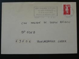 12 Aveyron Rodez Championnat De Petanque 1995 - Flamme Sur Lettre Postmark On Cover - Bocce
