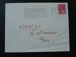13 Bouches Du Rhone Marseille Exposition Champollion 1973 - Flamme Sur Lettre Postmark On Cover - Egyptology