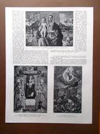 La Pinacoteca Di Brera Bellini Torbido Lotto Morone Jacopo Bassano Del 1914 - Boeken, Tijdschriften, Stripverhalen